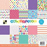 DCWV 12 x 12 Inch 100 Sheets Celebration Paper Pad Stacks