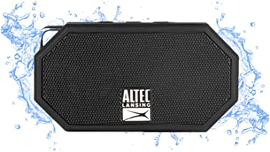 Altec Lansing Mini H2O - Wireless, Bluetooth, Waterproof Speaker, Floating, IP67, Portable Speaker, Strong Bass, Rich Ster...