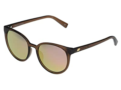 Le Specs Armada (Mocha/Peach Mirror) Fashion Sunglasses