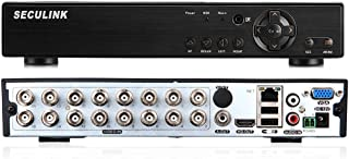 Seculink 16 canales 1080N AHD DVR 5-en-1 Grabadora de video
