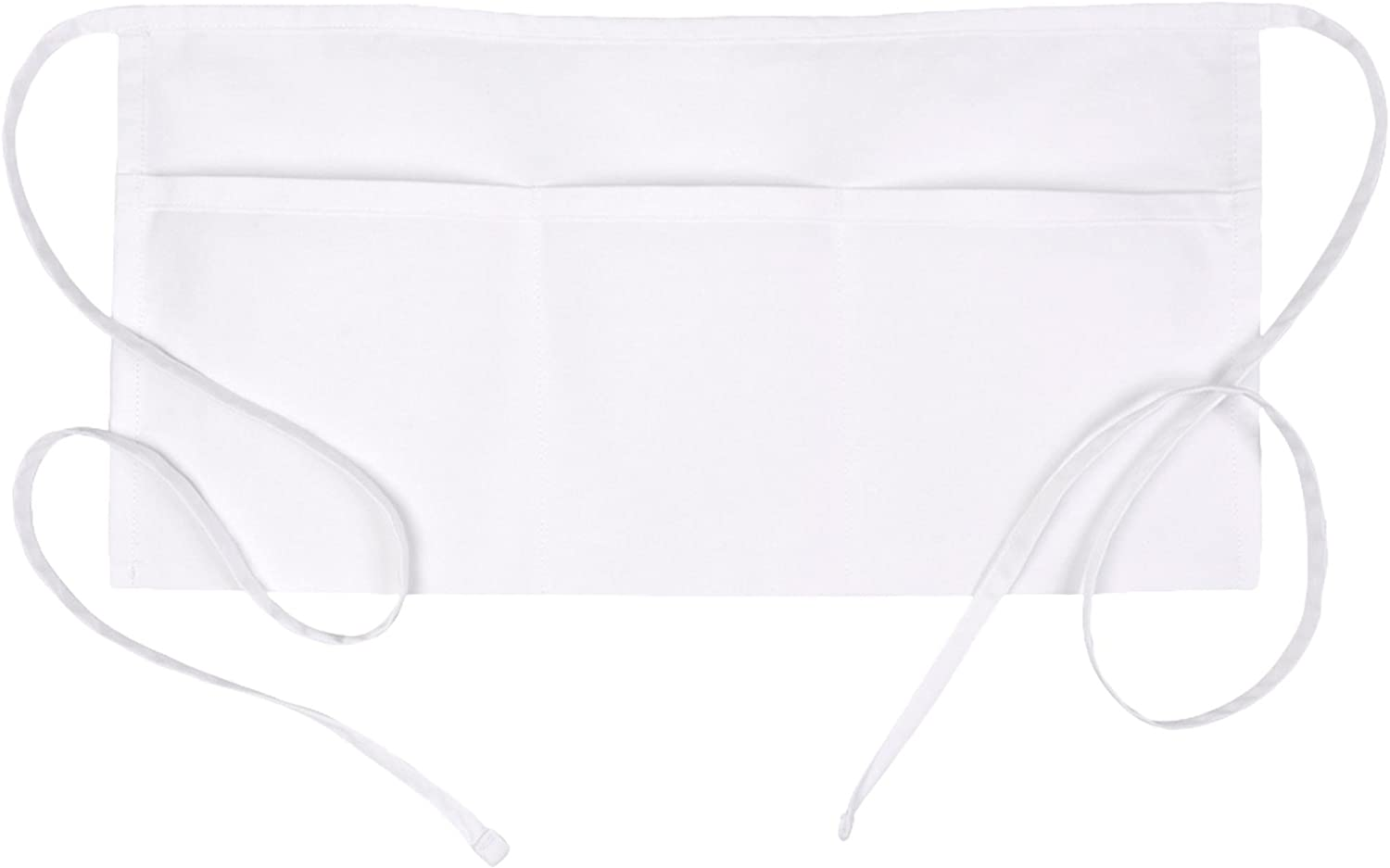 Fame Original 3 New Tucson Mall Shipping Free Pocket Waist Apron 18135 for O in White Adults -