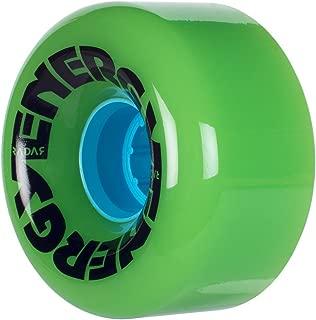 Radar Wheels - Energy 65 - Roller Skate Wheels - 4 Pack of 78A 35mm x 65mm Quad Skate Wheels