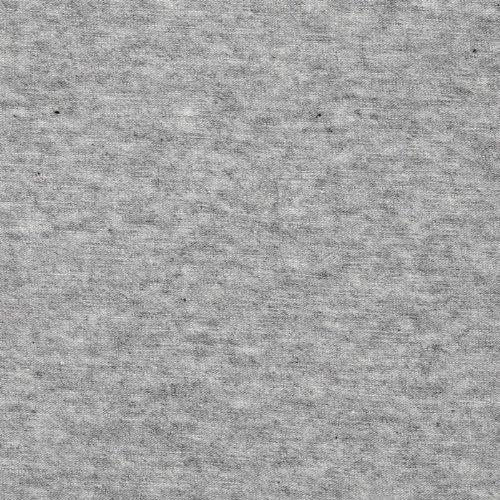 Robert Kaufman Kaufman Laguna Stretch Cotton Jersey Knit Heather Grey Fabric By The Yard