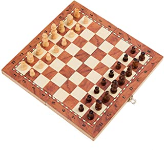 Chess Board Set for Adults Kids,Chess Game Toy Wooden Education Puzzle Chessboard Game Parent-child Family Party Game Inte...