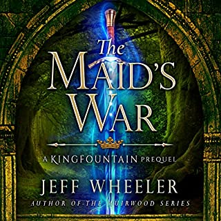 The Maid's War                   By:                                                                                                                                 Jeff Wheeler                               Narrated by:                                                                                                                                 Kate Rudd                      Length: 9 hrs and 3 mins     580 ratings     Overall 4.6