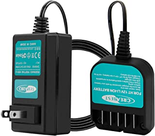 Creabest New Li-ion 10.8V-12V Battery Charger Compatible with Hitachi 331065 BCL1015 BCL1015S 329370 329371 329389 (NOT for Ni-MH/Ni-Cd Battery)