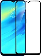 SuperdealsForTheinfinity 6D Tempered Glass Full Edge-to-Edge Screen Protection for Oppo Realme 2 Pro (Black)