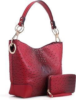 MKF Collection Hobo Purses for Women – PU Leather Handbag Womens Hobo Shoulder bag – Fashion Top Handle
