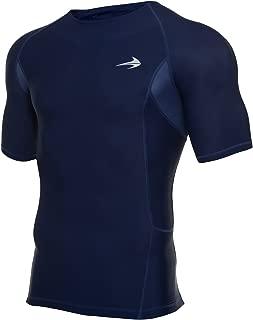 CompressionZ Men's Short Sleeve Compression Shirt - Athletic Base Layer