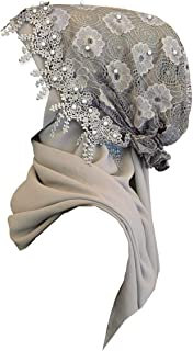 lace trim hijab