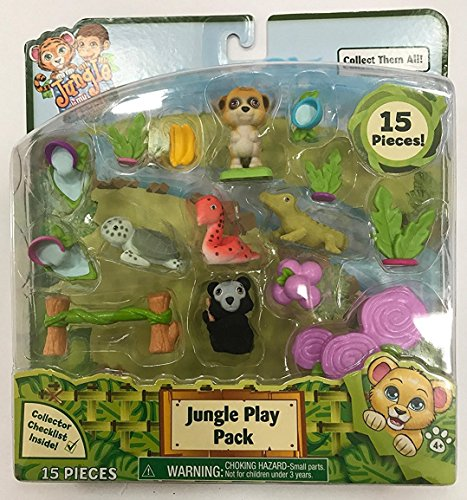 Flair Jungle in My Pocket Jungle Play Pack 15 Pieces - A