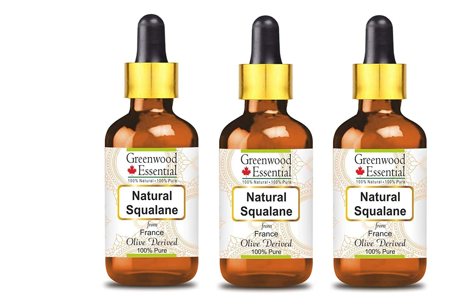 Greenwood Essential Great interest Pure Natural Squalane Award-winning store from Oil derived Oliv
