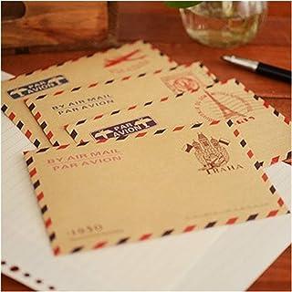10 pcs/lot Mini Retro Vintage Paris Paper Envelope Fashion Cute Stationery for Cards