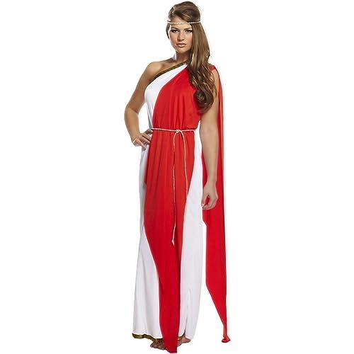 Dressed - Disfraz de romana para mujer: Amazon.es: Juguetes ...