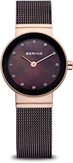 BERING Womens Analogue Quartz Watch with Stainless Steel Strap 10122-265