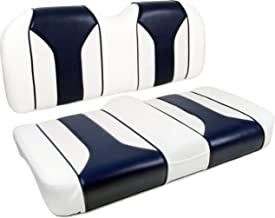 MODZ FS2 Golf Cart Custom Front Seat - For Club Car Precedent - Blue and White [Click for More Options]