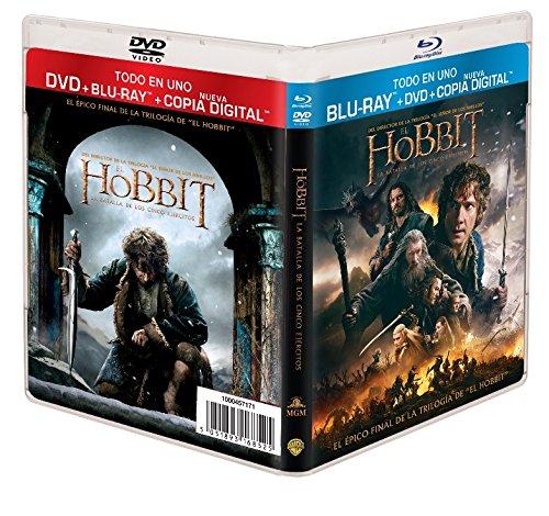 El Hobbit 3: La Batalla De Los Cinco Ejércitos (Bd + Dvd + Copia Digital) [Blu-ray]