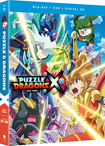 Puzzle And Dragons X - Part Three [Blu-ray]