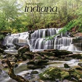 Indiana Wild & Scenic 2022 12 x 12 Inch Monthly Square Wall Calendar, USA United States of America Midwest State Nature