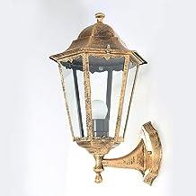 NZDY Victoriaanse buitenwandlamp klassieke hamerende glazen wandlantaarn patio veranda boerderij wandverlichting Europese ...