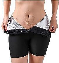 Sauna Neopreen Broek, Sauna Sweat Hoge Getailleerde Shorts Voor Vrouwen Gewichtsverlies Workout Sauna Broek Perfect Voor I...