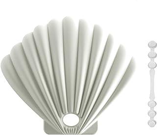 Beusoft マスクケース 携帯用 抗菌 消臭 マスク収納ケース マスク 一時保管用 シリコン製 薄型 持ち運び 小物収納 マスクポーチ マスク入れ マスクバンドも付き (ホワイト)