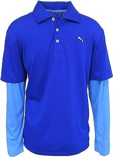 Puma Golf Boy's Long Sleeve Polo Tee