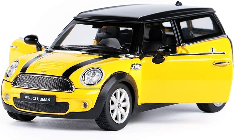 GXYGWJ Auto modellolo 1  24MiNi Clubuomo Simulazione Lega pressofusione Giocattolo Gioielli Auto Sportiva Collezione Gioielli 16.5x7x6CM