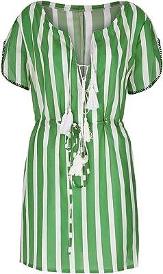 Amazon.com: GUTTEAR - Blusa de manga corta para mujer ...