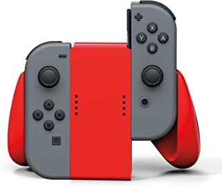 PowerA Joy Con Comfort Grips for Nintendo Switch Red