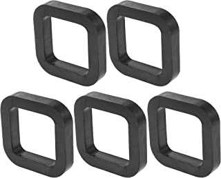 X AUTOHAUX 5pcs Square 2 Car Hitch Receiver Pad Cushion Between Receivers and Adjustable Ball Mounts Tow Hitches Reduce Rattle Eliminate Noise