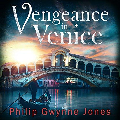 Vengeance in Venice audiobook cover art
