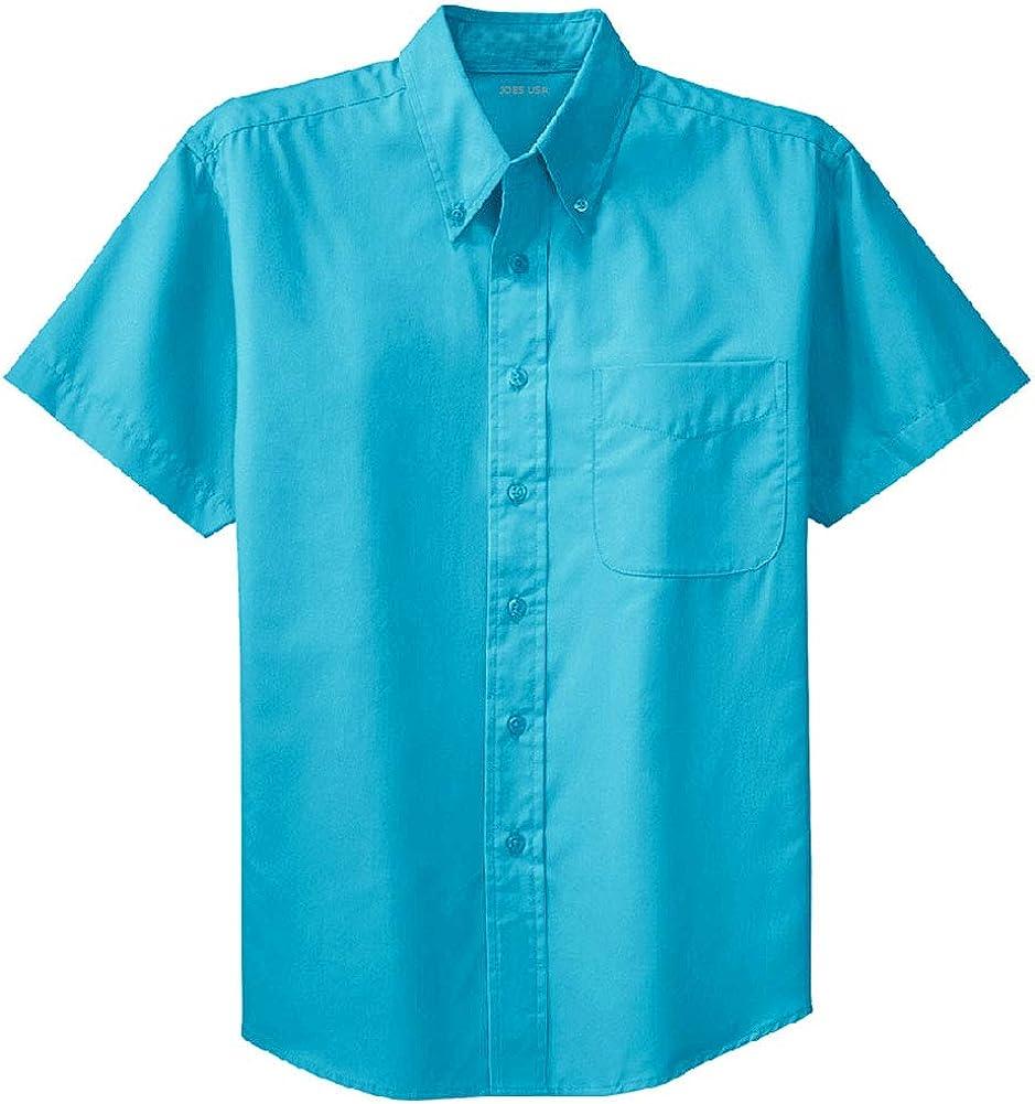 Men's Short Sleeve Wrinkle Resistant
