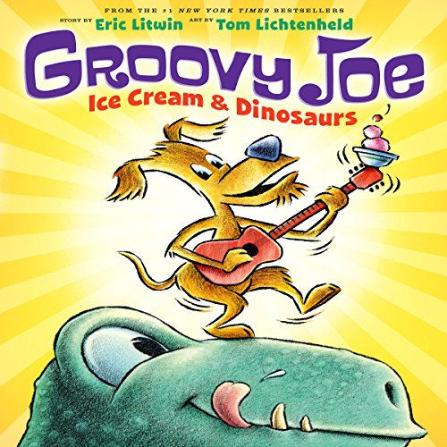 Ice Cream and Dinosaurs audiobook cover art