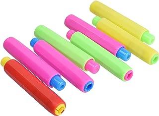 Cosmos ® Pack of 8 Plastic Chalk Keeper Holder, Random Color