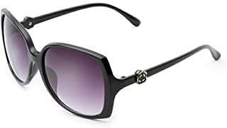 Gnzoe Sunglasses Retro Classic Sunglasses for Men Women Flower