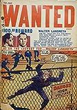 Wanted Comics #18 (English Edition)