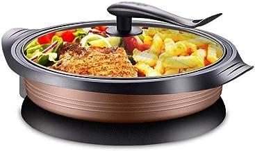 Poêle, Cuisinière électrique électrique Hot Pot électrique Barbecue électrique de cuisson Pan 1800W, non-Stick Frying Pan Wok