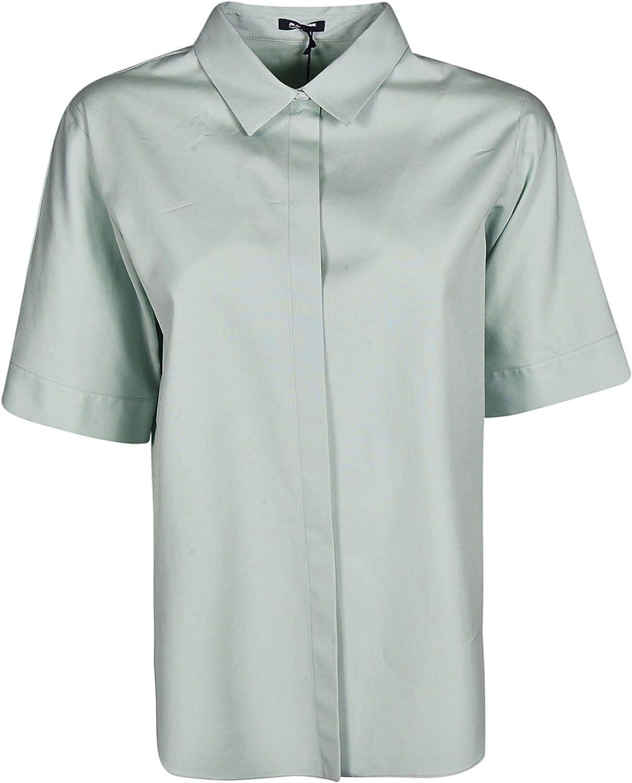 JIL SANDER Women's JNWM6008AJM2442456 Light bluee Cotton Shirt