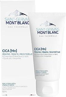 Saint-Gervais Mont Blanc - Crème Cica MN Cicatrisante & Réparatrice pour Peaux Fragilisées - Visage & Corps - 50 ml