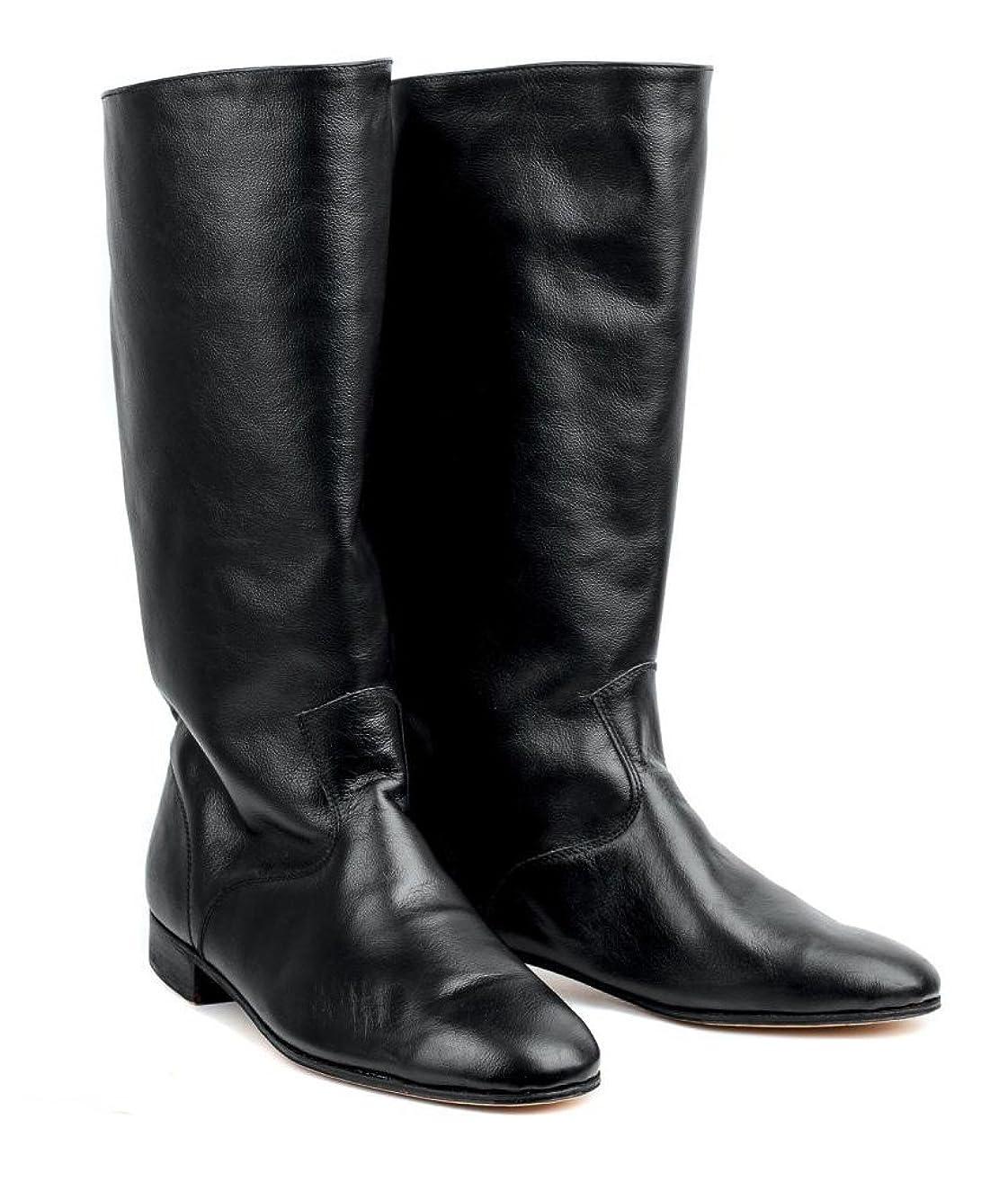Russian leather boots men dance shoes Kozaken