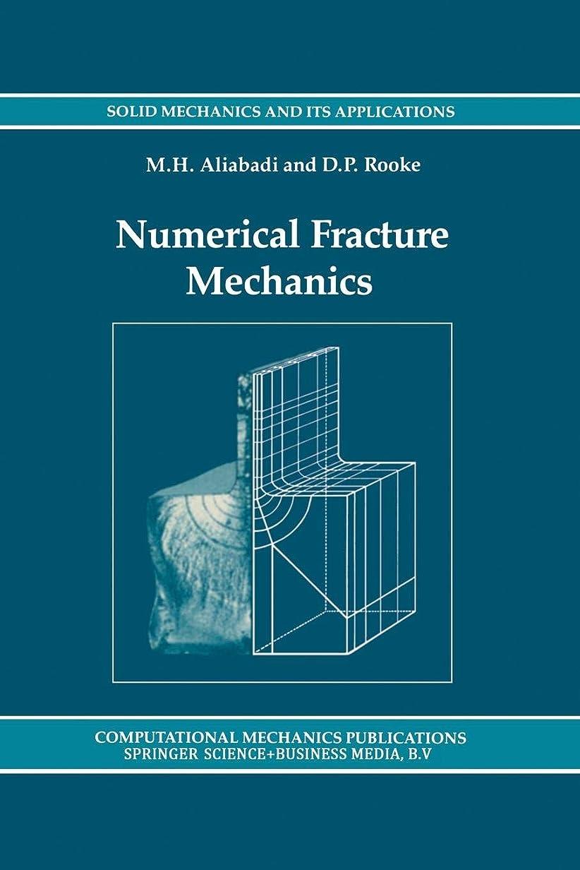 ドライアスレチック遺体安置所Numerical Fracture Mechanics (Solid Mechanics and Its Applications)