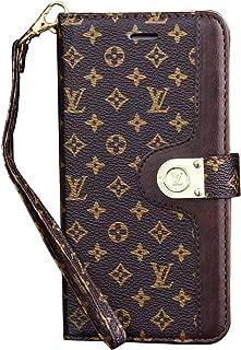 Elegant Luxury PU Leather Fashion Designer Monogram Flap-Over Buckle Folding Magnetic Mobile Wallet case for iPhone 11 Pro Max (IP 11 Pro Max)