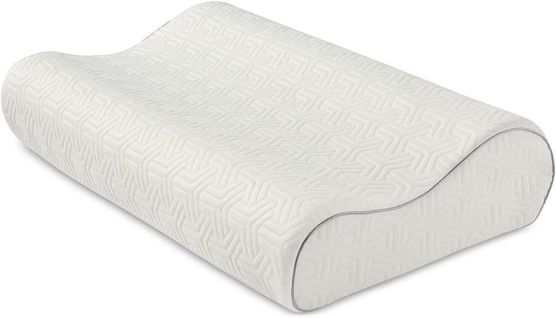 Martha Stewart Collection Dream Science Memory Foam Contour Pillow Bedding Standard Queen
