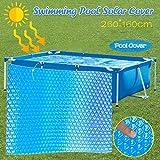 MDYHJDHYQ Ronda piscina cubierta protectora 8 10 12 15 pies manta de calefacción for bajo suelo sobre el suelo redonda Diámetro Piscinas Easy Set y Piscinas marco redondo piscina cubierta (8 pies)