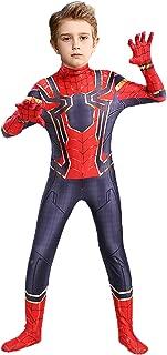 Superhero Bodysuit Zentai Suit for Kids Halloween Cosplay Costume Jumpsuit