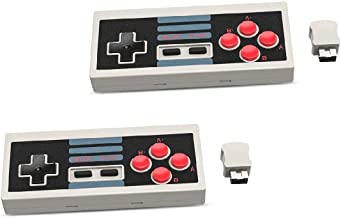 for Nintendo NES Controller Wireless Turbo Mini Classic Edition (Pack of 2)