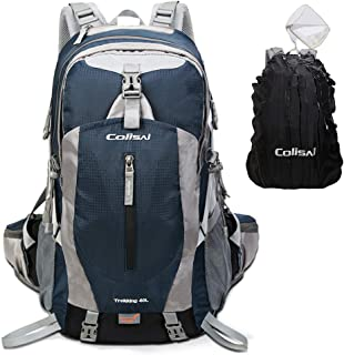 Colisal Hiking Backpack 40L Trekking Rucksack for Men Women Camping Backpack