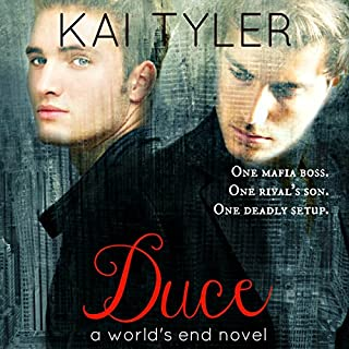 Duce     A Novel (World's End Book 1)              By:                                                                                                                                 Kai Tyler                               Narrated by:                                                                                                                                 Darren Homewood                      Length: 4 hrs and 52 mins     23 ratings     Overall 3.5