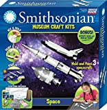 Smithsonian Space Perfect Cast Museum Cast, Paint, Display and Learn Craft Kit
